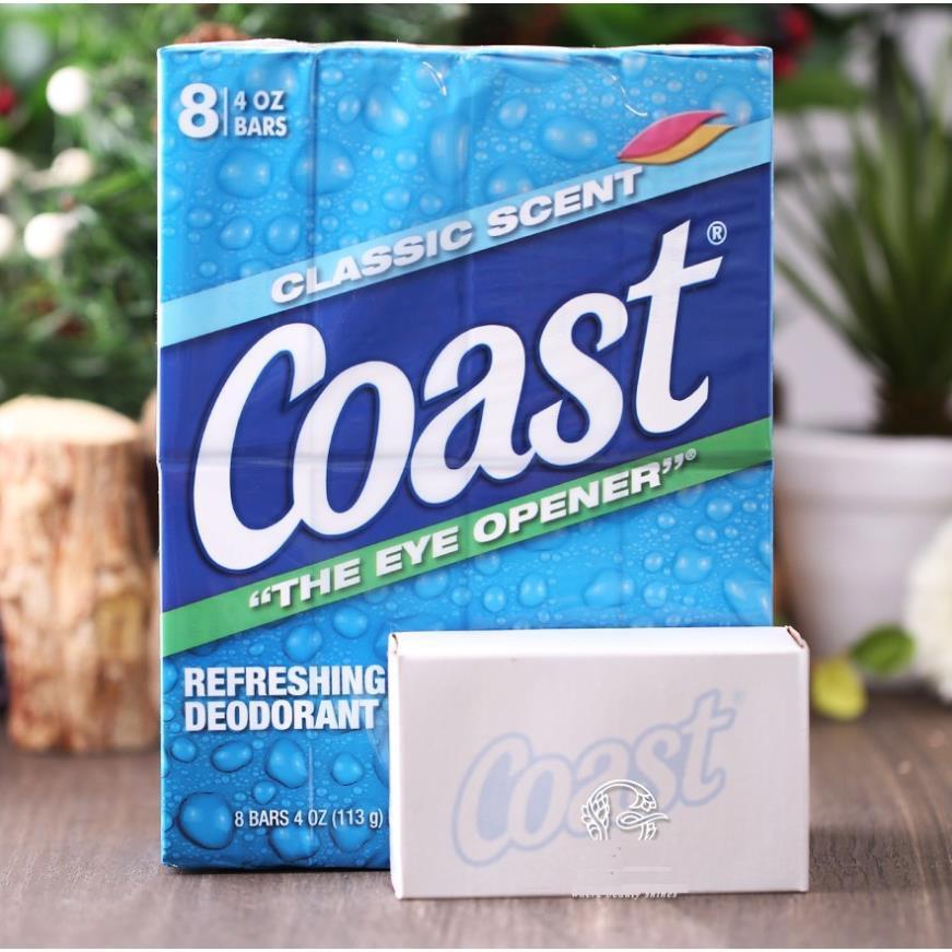 Xà bông cục Coast Mỹ - lốc 8 cục