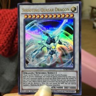 """Thẻ bài yugioh """"Shooting Quasar Dragon"""""""