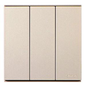 Công tắc ba 2 chiều 16A chuẩn vuông cao cấp Simon E6 721032