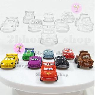 BỘ 8 XE TRỚN CARS BẰNG NHỰA