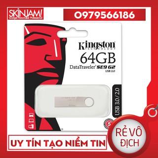 [Mã ELORDER5 giảm 10k đơn 20k] USB 2/4/8/16/32/64 GB Kingston Chống Nước Bảo Hành 12 tháng 1 đổi 1