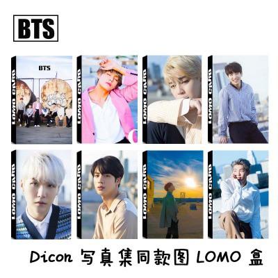 Lomo card BTS bộ DICON