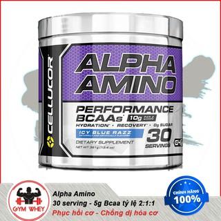 [FreeShip] Chống Dị Hóa Cơ Bắp Amino Axit Cellucor Alpha Amino 30 lần dùng - Chính Hãng 100% thumbnail