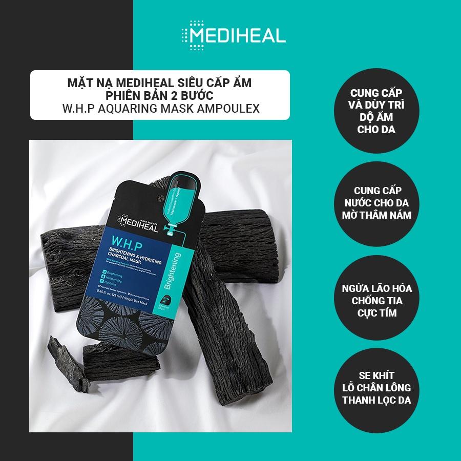 Mặt Nạ Mediheal Siêu Cấp Ẩm Phiên Bản 2 Bước W.H.P Aquaring Mask Ampoulex 30ML [K68]