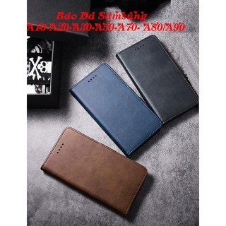 Bao Da Samsung A10- A20- A30- A50- A70 ( Có Ngăn Để Tiền, Thẻ).