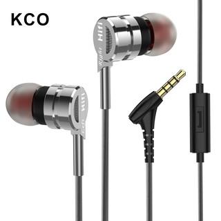 Tai nghe KCO M6 HIFI có dây và micro dành cho iOS Android PC
