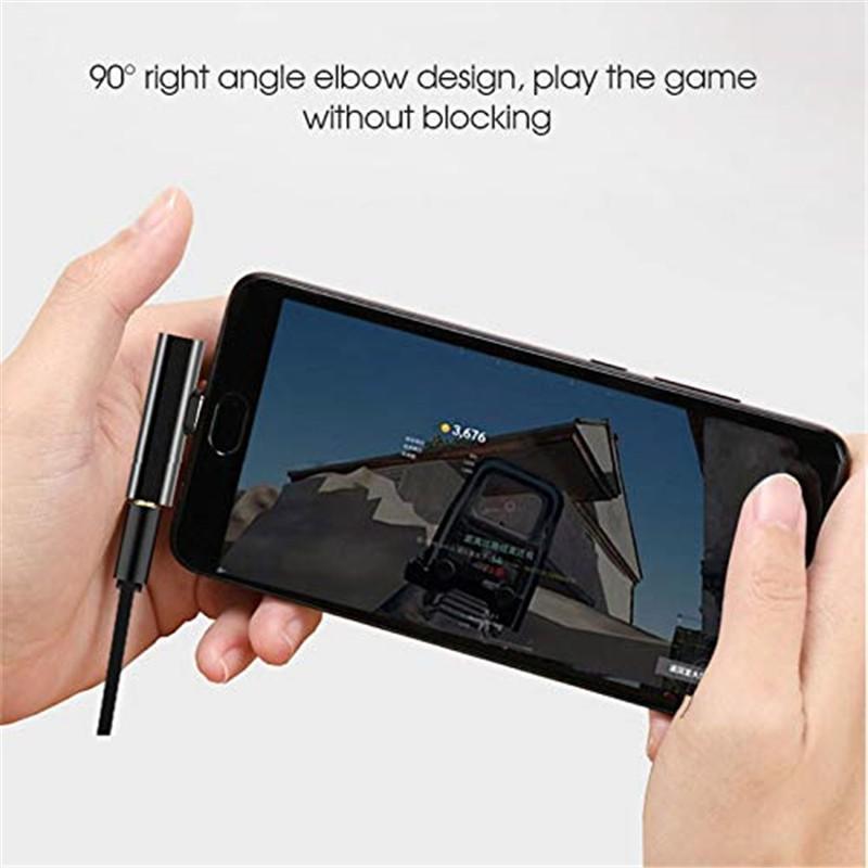 Đầu Chuyển Đổi Cổng Type C Sang 3.5mm Cho Điện Thoại Xiaomi Samsung