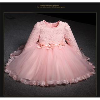 Váy Đầm Công Chúa Dài Tay Cao Cấp Cho Bé Gái 8-32kg (HÀNG QCCC)