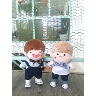 OUTFIT CHO DOLL 20CM – XANH