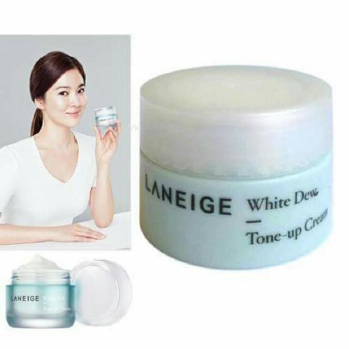 Kem Dưỡng Trắng Da Laneige White Dew Tone Up Cream 10ml