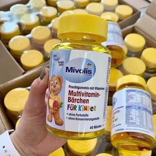 Kem Gum Gấu Vitamin Ăn Ngon - Kẹo Gấu Multivitamins Mivolis Đức - myphamchinhhangladycare thumbnail