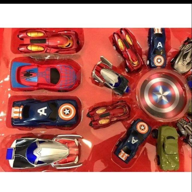 Set 14 ô tô siêu anh hùng - CC0601