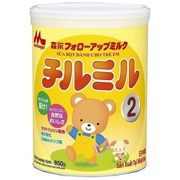 Sữa Morinaga số 2 850g cho bé chính hãng T011