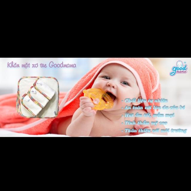 Khăn mặt sơ tre kháng khuẩn cho bé hàng cao cấp Goodmama