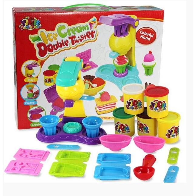 Đồ chơi đất nặn có máy làm kem từ đất 5 hộp màu vrg00799175793 - 3018691 , 138948674 , 322_138948674 , 98000 , Do-choi-dat-nan-co-may-lam-kem-tu-dat-5-hop-mau-vrg00799175793-322_138948674 , shopee.vn , Đồ chơi đất nặn có máy làm kem từ đất 5 hộp màu vrg00799175793