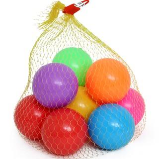 Túi bóng nhựa màu 10 quả đẹp size to thumbnail