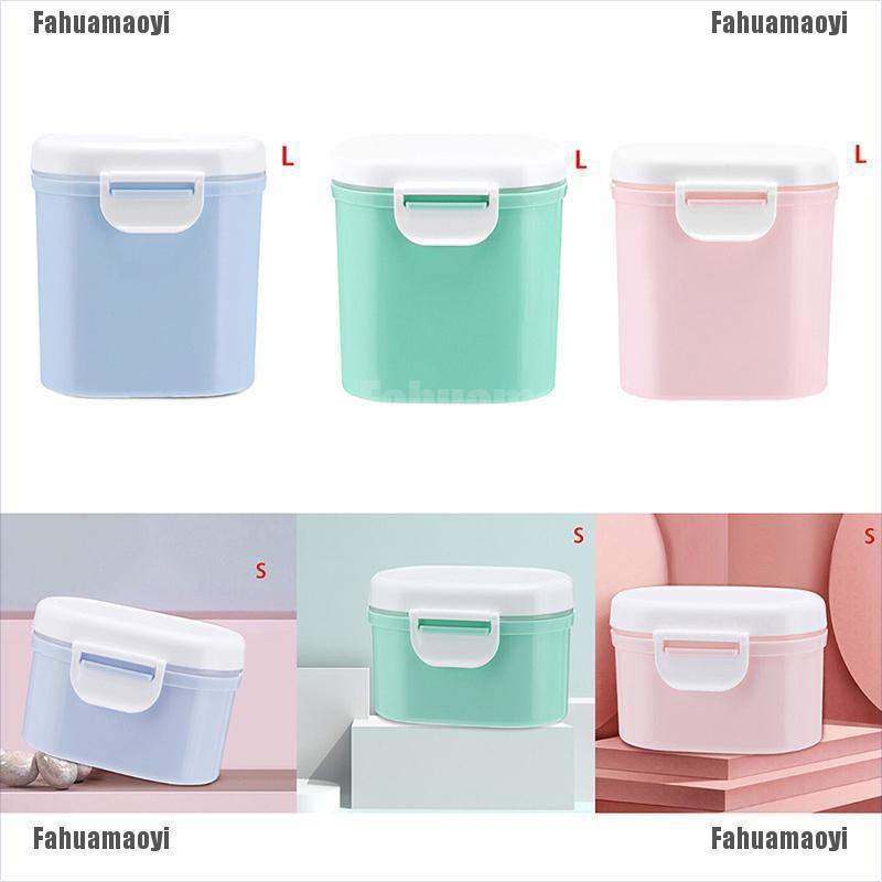 fahuamaoyi.th 1Pc Baby infant milk container portable formula food storage dispenser sealed