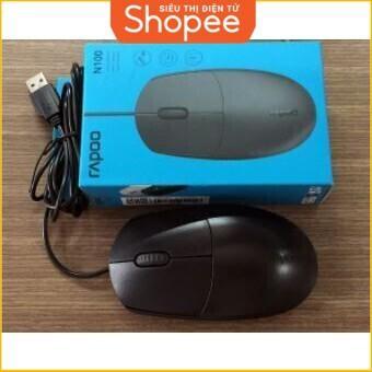 [Siêu Khuyến Mãi] Chuột quang dây Rapoo N100 USB Giá chỉ 61.250₫