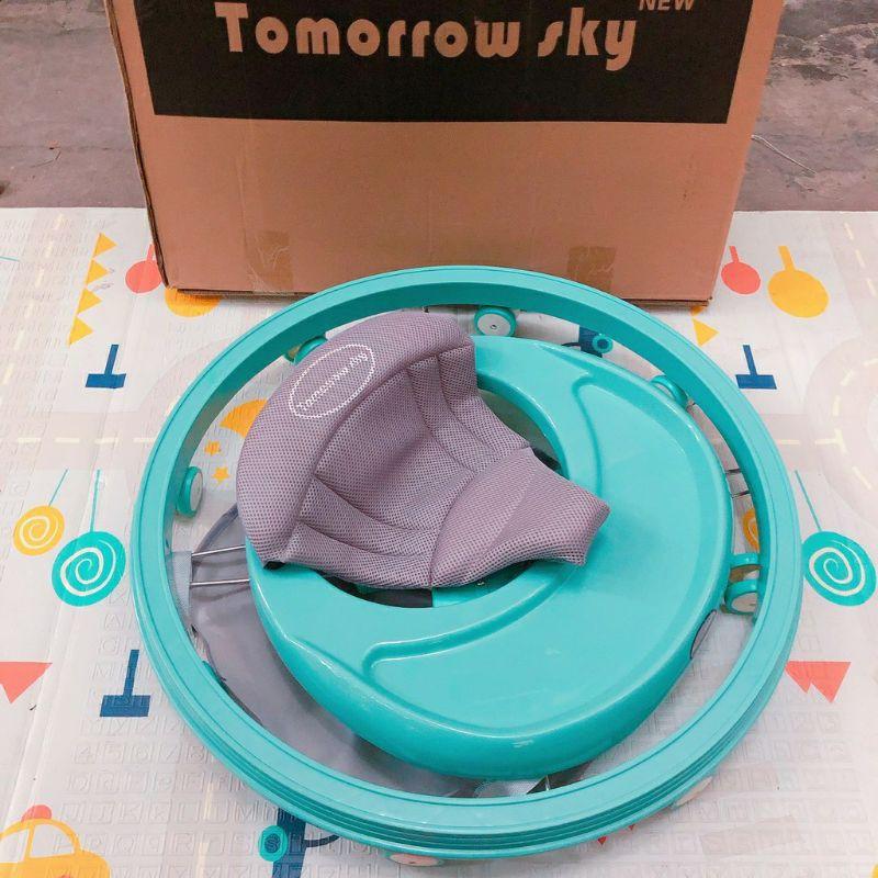 (FREESHIP+BH 1 NĂM) Xe tròn Tomorrow Sky - Xe tròn tập đi kết hợp bàn ăn dặm - Hàng Xuất Nhật