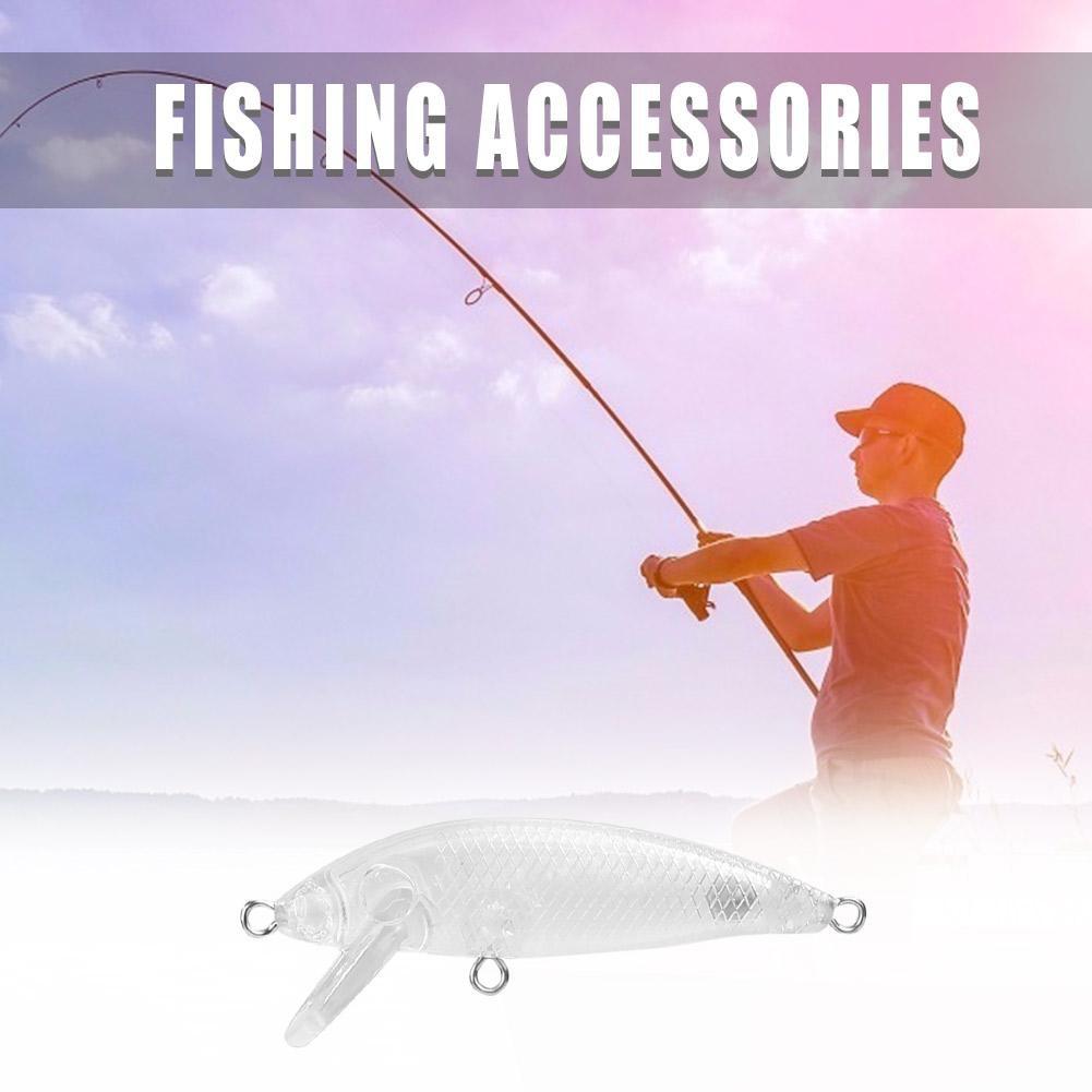 1pc 5.5cm 3.5g Plastic Fishing Lure Artificial Bionic Fake Baits Woler