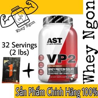 Sữa tăng cơ bắp không tăng mỡ AST VP2 100% Hydrolyzed Isolate whey 2lbs (908gram) – Chính Hãng
