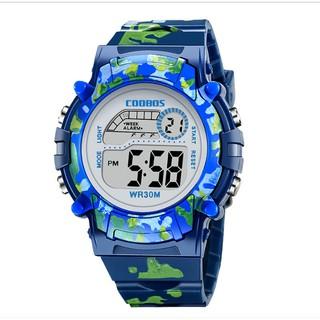 [Mã FASHIONFREE10 giảm 10K đơn 20K] Đồng hồ trẻ em đa chức năng kết hợp đèn Lex 7 màu chính hãng COOBOS thumbnail