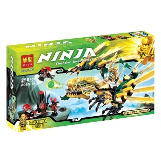 Lego Ninjago Lắp Ráp Rồng Vàng 9793