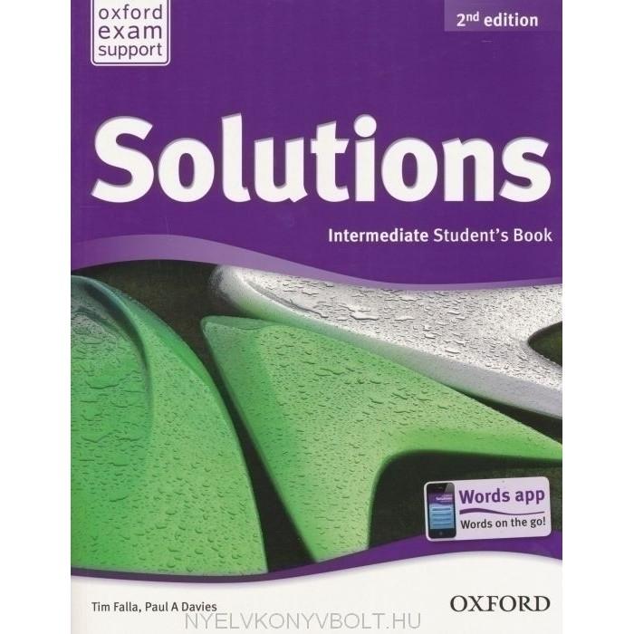 Bộ Sách Solutions Intermediate (2nd edition) (Trọn bộ 2 cuốn) (With CD) - Tác giả: PAUL A. DAVIES,