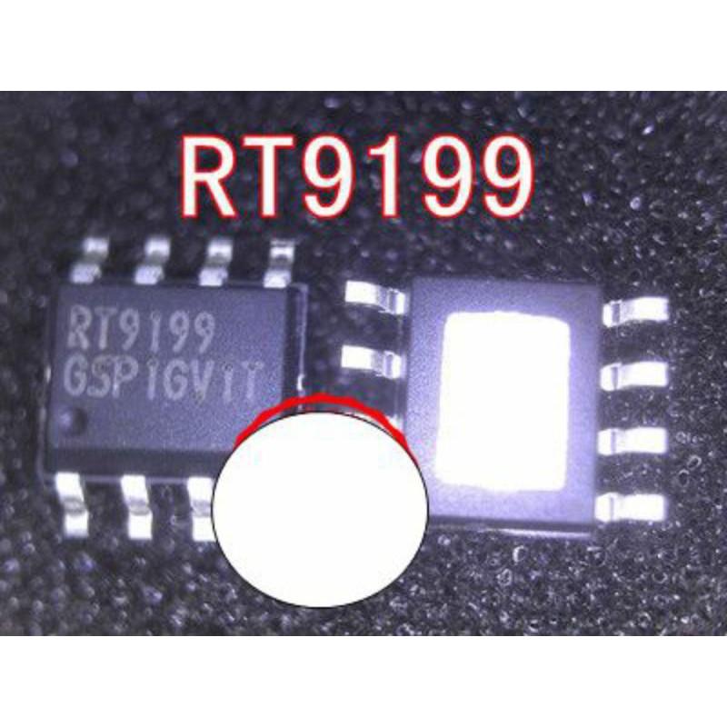 IC RT9199 QUẢN LÝ NGUỒN RAM TRÊN MAINBOARD PC LAPTOP VGA CARD ĐỒ HỌA MỚI