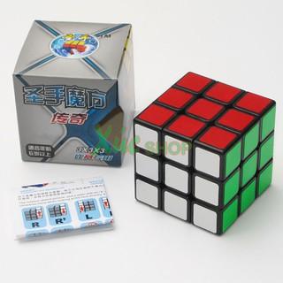 Rubik 3×3 viền đen – Shengshou Legend – 3x3x3