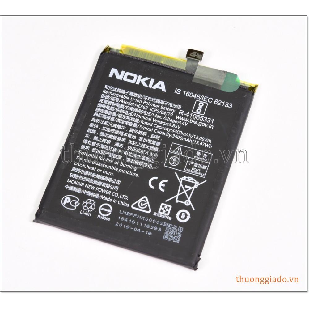 Thay pin Nokia X7 (2018), Nokia 7.1 Plus, Nokia 8.1, Nokia 3.1 Plus (Nokia HE363)