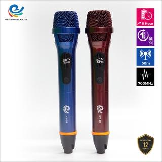 Micro Không Dây Hát Karaoke MV08, Chuyên Dành Cho Mọi Loa Kéo, Âm Ly, Tần Số 50, Hát Nhẹ Êm Đa Năng bảo hành 12 tháng