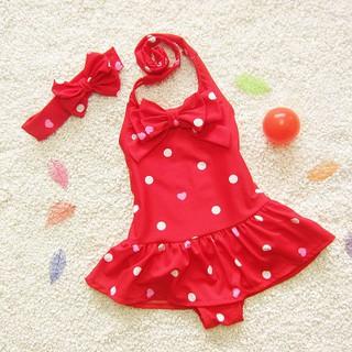 ĐỒ BƠI CHO BÉ GÁI, Bộ váy bơi cho bé gái dễ thương