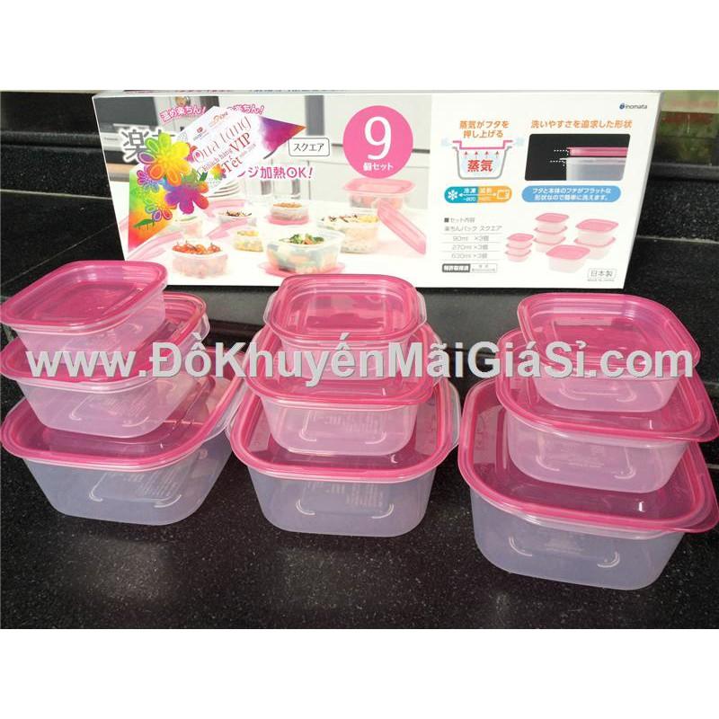Bộ 9 hộp nhựa đựng thực phẩm cao cấp Nhật Bản 3 kích cỡ - Coop tặng. - 3337934 , 774154086 , 322_774154086 , 95000 , Bo-9-hop-nhua-dung-thuc-pham-cao-cap-Nhat-Ban-3-kich-co-Coop-tang.-322_774154086 , shopee.vn , Bộ 9 hộp nhựa đựng thực phẩm cao cấp Nhật Bản 3 kích cỡ - Coop tặng.