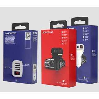 Nơi bán Cốc sạc oto Borofone BZ11 giá rẻ Cóc sạc xe hơi BOROFONE BZ11 (02 cổng USB, CÓC SẠC XE HƠI BOROFONE BZ11 ( CÓC