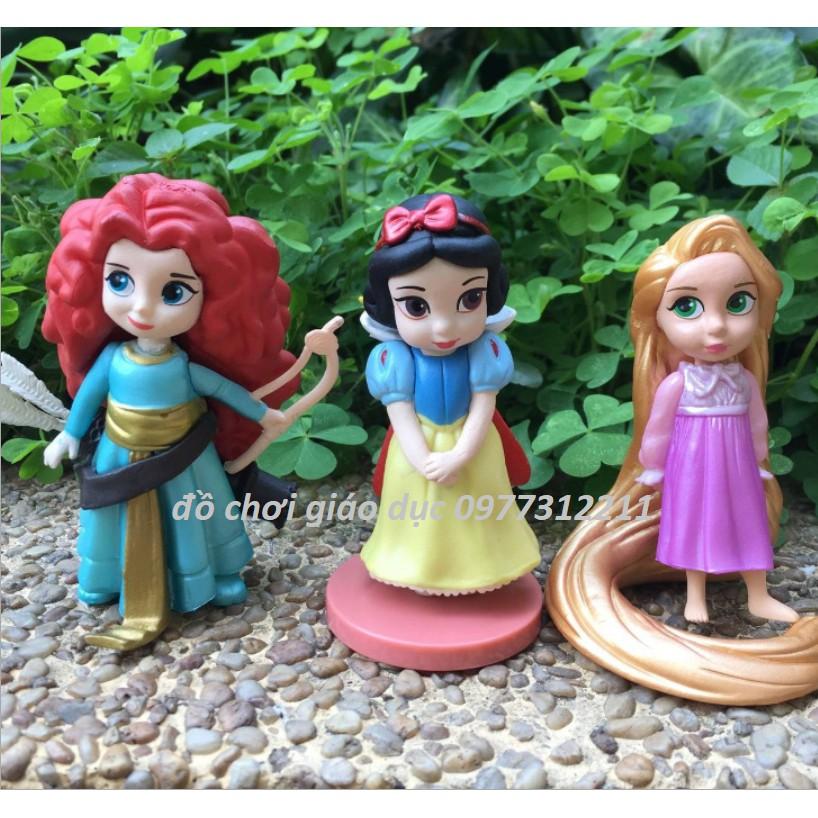 Set 11 búp bê công chúa Disney
