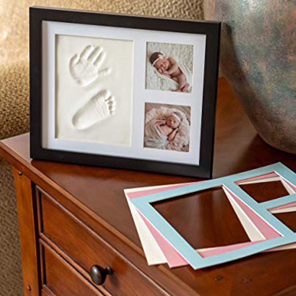 Imprint Infant Baby Footprint Gifts Non-toxic Casting Souvenirs Handprint Kit