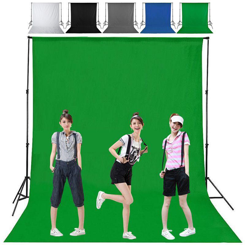 [Ready Stock] Phông nền chụp ảnh chất liệu vải cotton màu xanh lá