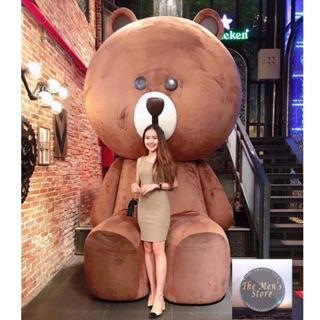 [ẢNH THẬT]Size 90cm Gấu bông BROWN socola