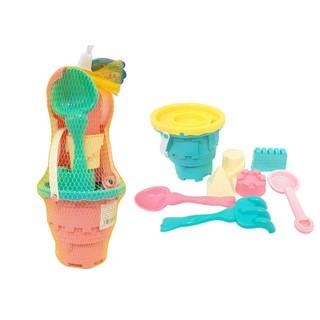 Lưới đồ chơi đi biển Hoàng Thu HT7834 (Xô, xẻng, đồ chơi cát…)