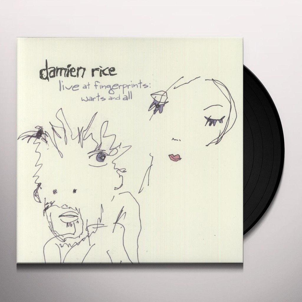Damien Rice - Live at Fingerprints: Warts & All (Vinyl LP) - Đĩa Than