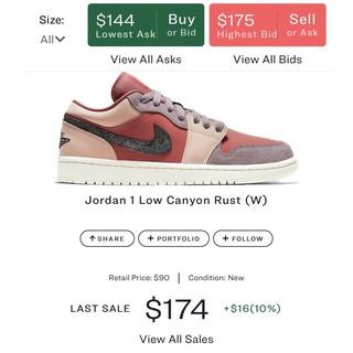 [GeekSneaker] Giày Jordan 1 Low Cranon Rust (W)