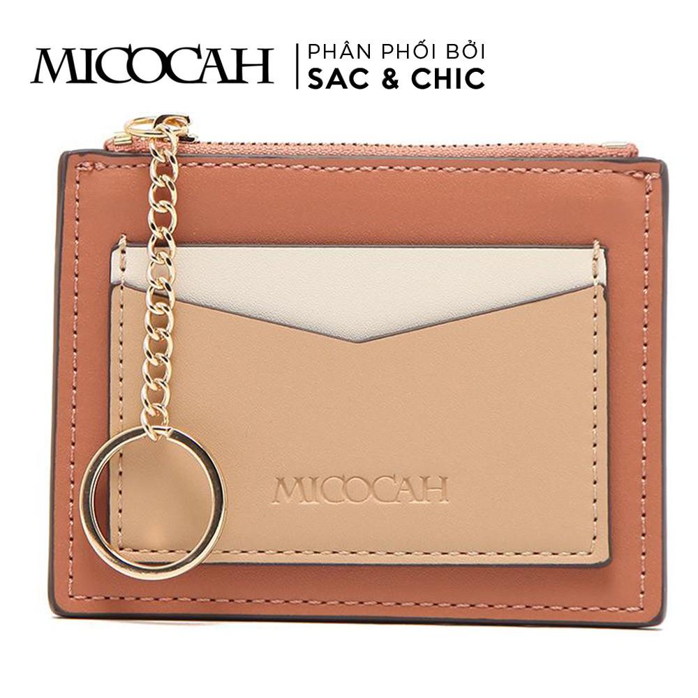 Ví mini MCC-45 Phối Khoeng Kim Loại Tròn Micocah