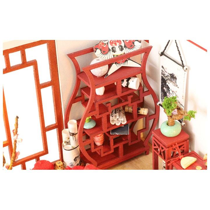 Mô Hình Nhà Gỗ DIY Phòng Hoa Chúc