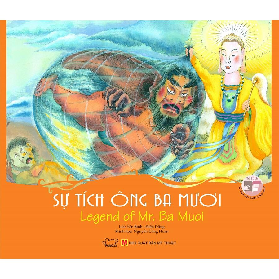 Truyện Cổ tích Việt Nam song ngữ - Sự tích Ông Ba Mươi