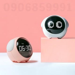Đồng hồ báo thức hiển thị cảm xúc,cảm biến âm thanh (EMOJ-ALARM)