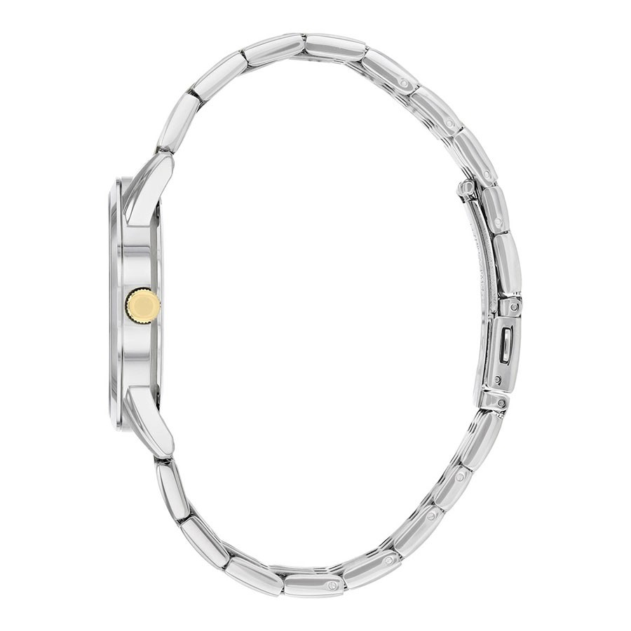 Đồng Hồ Citizen Nam Dây Kim Loại Pin-Quartz BI5006-81P - Mặt Vàng (39mm)