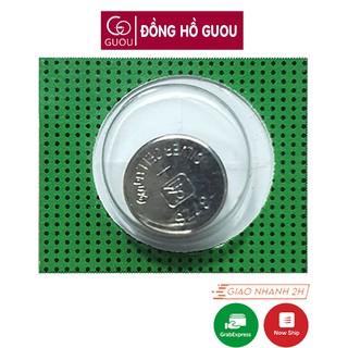 Pin đồng hồ đeo tay nam nữ GUOU loại cúc áo giá rẻ thay pin đồng hồ kim thể thao điện tử thông minh chính hãng 1K