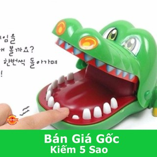 [FLASH SALE] Bộ trò chơi cá sấu cắn tay