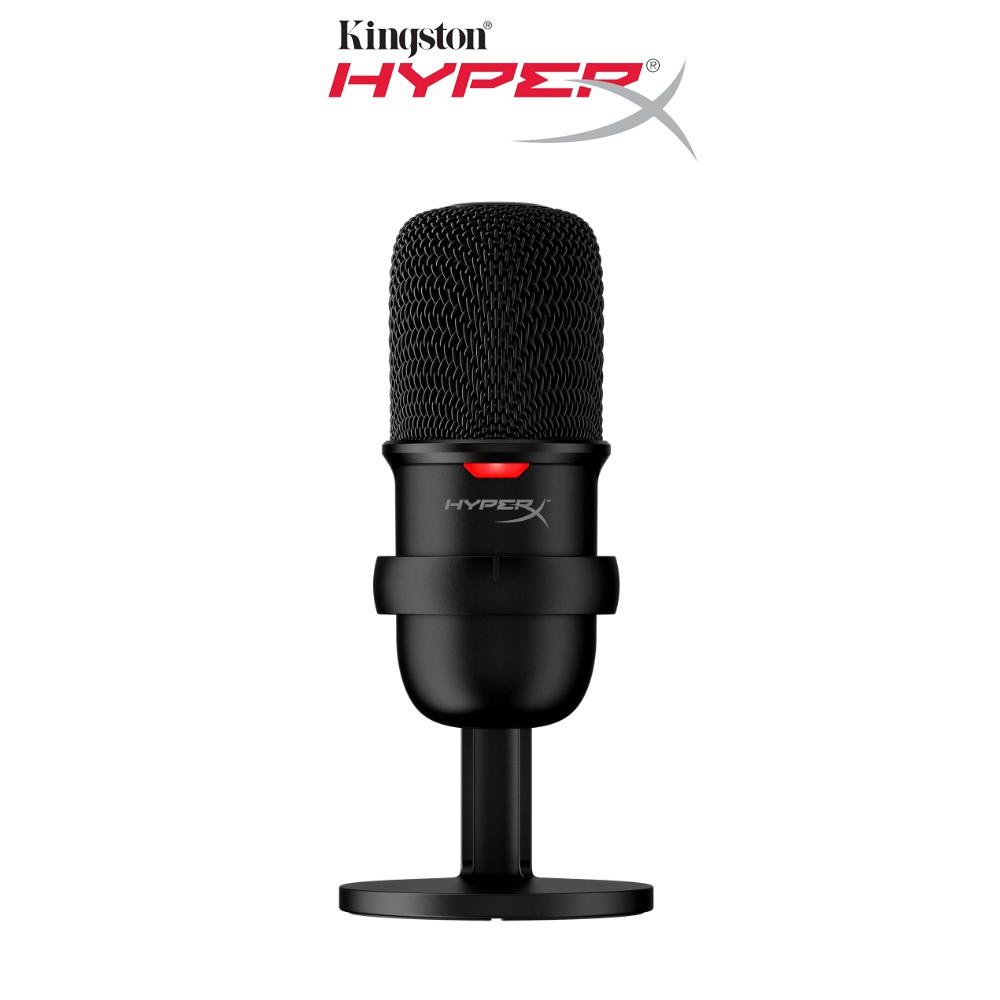 [Mã ELTECHZONE giảm 5% đơn 500K] Thiết bị thu âm Kingston HyperX Micro SoloCast chuyên dùng streamer và thu âm